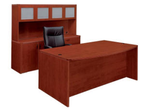 Modern High Quality MFC Board Office Furniture Hutch with Aluminum Glass Door pictures & photos