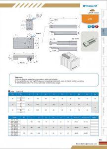 Good Interlocking Design Latch Lock Manufacturer pictures & photos