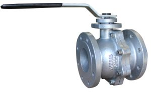 Cast Iron Double Flange Ball Valve, JIS 10k/16k pictures & photos