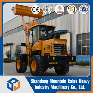 Hydraulic Transmission Wheel Loader Big Wheel Loader with Promotion Price pictures & photos