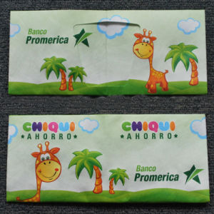 Children Cattontyvek Paper Wallet Pruse pictures & photos