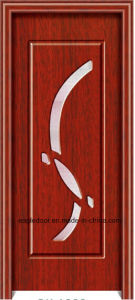 Asia Latest Design PVC Interior Wooden Doors (EI-P152) pictures & photos
