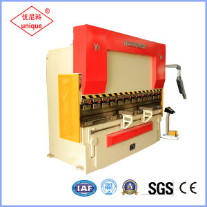 We67k-100t/3200 CNC Bending Machine Hydraulic Press Brake