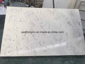White Marble Beautiful Artificial Stone Quartz Slab for Building Material pictures & photos