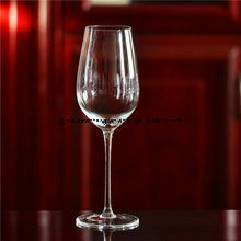 Hand Made Clear Wine Glass (B-WG032) pictures & photos
