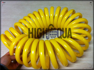 High Quality Flexible High-Pressure Colored Plastic Water Pipe Spiral PU/PE Hose pictures & photos