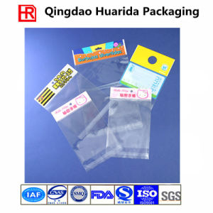 Custom Printing Transparent Self Adhesive Plastic Bag with Flap pictures & photos