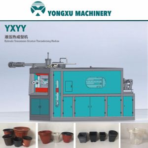 Yxyy Hydraulic Structure Plastic Flower Pot Making Machine/Disposable Cup Making Machine/Cup Forming Machine/Plastic Thermoforming Machine/Plastic Cup Machine pictures & photos