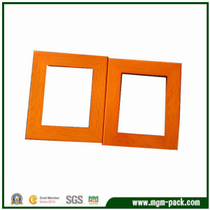 Decorative Orange Rectangle Wood Picture Frame pictures & photos