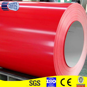 PPGI Steel Coil in Red Color (CTG A 057) pictures & photos