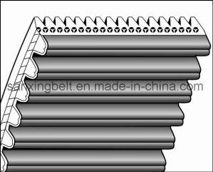Teeth-Wedge Timing Belt1552-S8m-16pk / 30 Pk for Buhler Machine pictures & photos