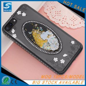 Crystal Diamond 3D Liquid Quicksand TPU Case for iPhone 7 pictures & photos