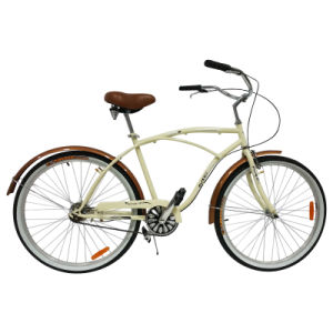 "Good Quality 26"" Male Beach Cruiser Bicycle (FP-BCB-C052) pictures & photos"
