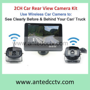 2 Channel Wireless Vehicle Car Backup Camera with Monitor pictures & photos