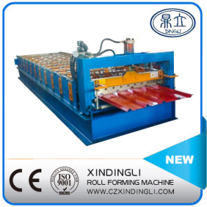 Popular Design Color Steel Ibr Roofing Sheet Roll Forming Machine pictures & photos