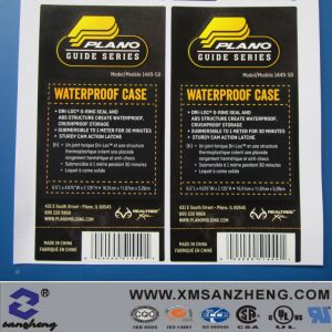 Custom Adhesive Stieker with Barcode Labels pictures & photos