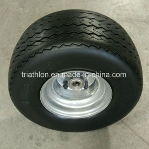 18X 8.50-8 Ribbed Flat Free ATV Trailer Tire pictures & photos
