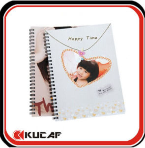 Spiral Notebook with Plastic Cover (KCx-00186) pictures & photos