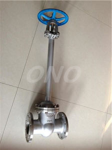 GB Cryogenic Stainless Steel Gate Valve pictures & photos