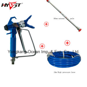 Hyvst Electric High Pressure Airless Paint Sprayer Diaphragm Pump Spx1150-210A pictures & photos