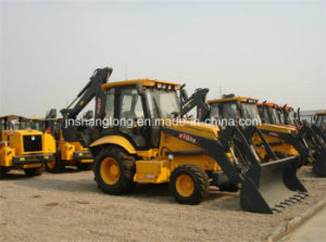 World Famous XCMG Earth Moving Machine 4WD Backhoe Loader pictures & photos