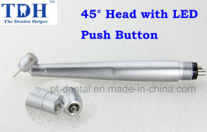 45 Degree Dental Turbine with LED (TDH-45-LED) pictures & photos