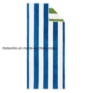 Pure Quality Stripe Design Bath Towel pictures & photos