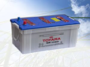 12V200ah Good Quality JIS Dry Charged Car Battery pictures & photos