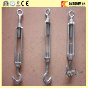 DIN 1480 Open Body Turnbuckle with Eye and Eye pictures & photos