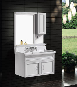 Modern Bathroom Vanity with Mirror Lamp (T-9713) pictures & photos