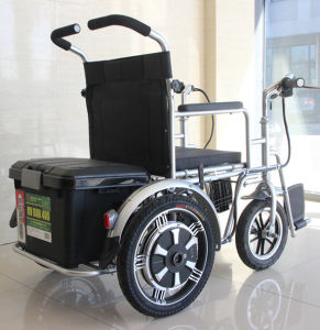 Electric Four Wheel Scooter Mobility Scooter (FP-EMS01) pictures & photos