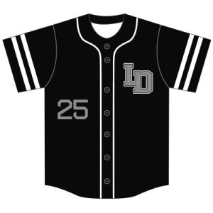 Custom Youth Dye Sublimation Baseball Jersey for Boys and Girls pictures & photos