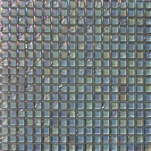 Honeydew 15X15mm Candy Crystal Mosaic