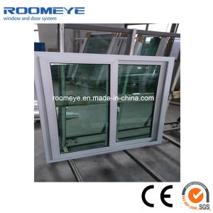 Roomeye 2017 Customized Double Glass Window PVC Sliding Window with Morden Style pictures & photos