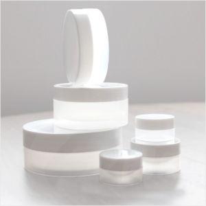 5g 10g 15g 30g 50g 100g 150g 200g 250g Natural White Matte Finish Plastic PP Jar Cream Jar Cosmetic Packaging Jar pictures & photos