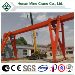 Electric Rail Traveling Gantry Crane Single Girder 5ton (MH) pictures & photos