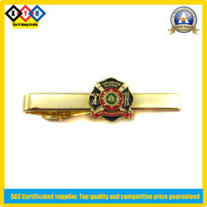 Gold Tie Clip for Fire and Emergency (XYH-TC004)
