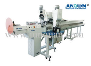 Two Ends Automatic Terminal Crimping Machine (JQ-3) pictures & photos