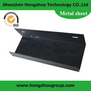 Black Zinc Plating Roof Sheet Metal Fabrication ISO SGS Approved pictures & photos