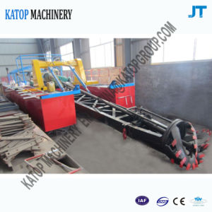 Small 8 Inch Hydraulic Cutter Scution Dredger with 1000m Pipe pictures & photos