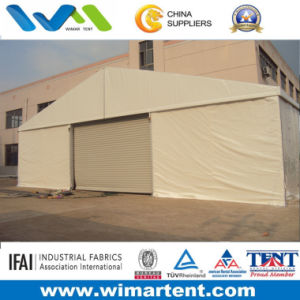 15m Warehouse Tent for Storage with PVC Walls and Auto Roller up Door pictures & photos