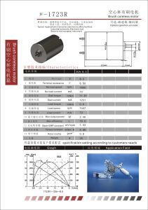 Brush Coreless DC Motor for Smart Robot (1723R) pictures & photos