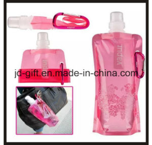 BPA Free Plastic Foldable Drinking Bottle Bag pictures & photos