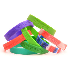 Wristband with Silicone pictures & photos