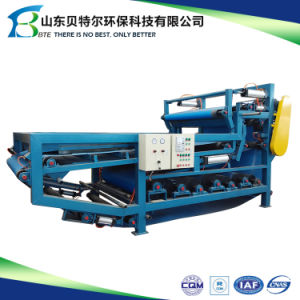 Sludge Dewatering Belt Type Filter Press Used in Wastewater Treatment pictures & photos