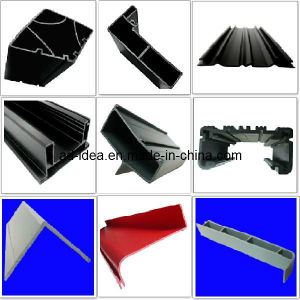 Co-Extruded PVC Profile Extruded Plastic PVC Extruded Profile pictures & photos