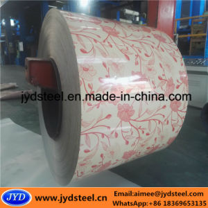 Prepainted Galvanized Steel Coil with Flower Design pictures & photos