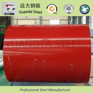 0.15-0.8mm Prime Color Coated Galvanized Steel Coil for Building