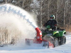 ATV Snow Throwers pictures & photos