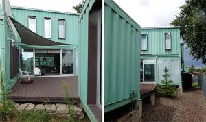 Prefabricated Two Floors/ Three Storey/ Multi-Storey Container House pictures & photos